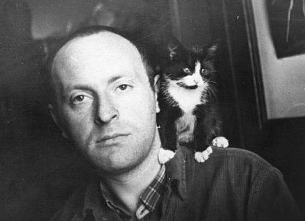 Иосиф Бродский и котик