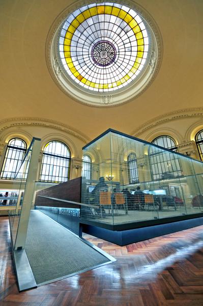 Национальная библиотека в Чили - читальный зал