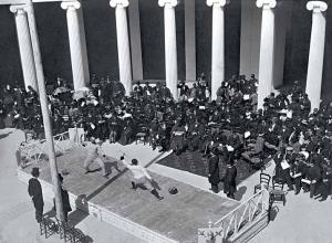 Фехтование на рапирах, 1896 Афины