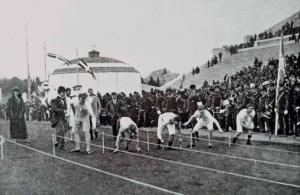 Забег на 100 метров, 1896 Афины