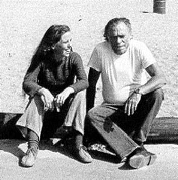 Чарльз Буковски со своей дочерью