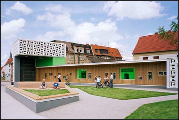 магдебургская библиотека из пивных ящиков