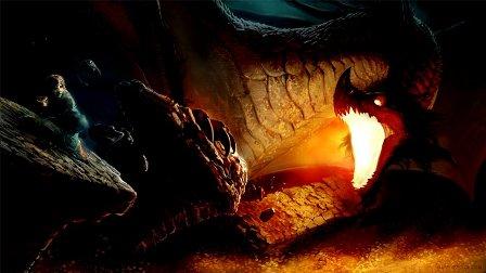 дракон Смог на золоте