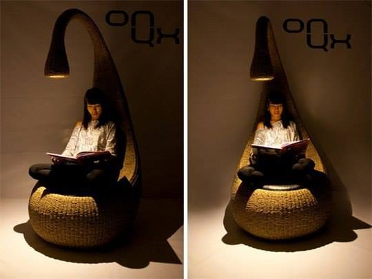 кресло с любовью к читателю