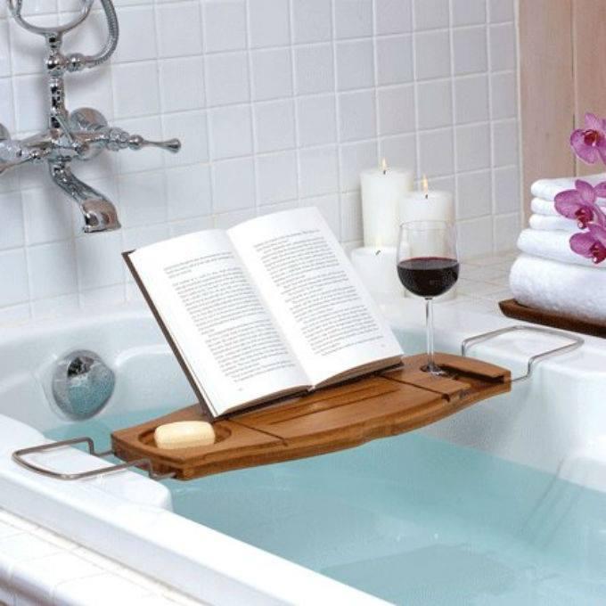 читаем в ванной с комфортом!