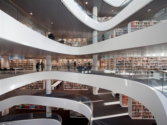 библиотека Университета города Абердина