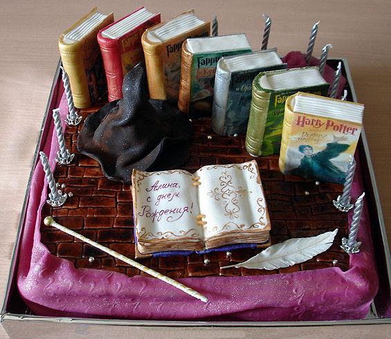 такой тортик оценят фанаты Гарри Потера
