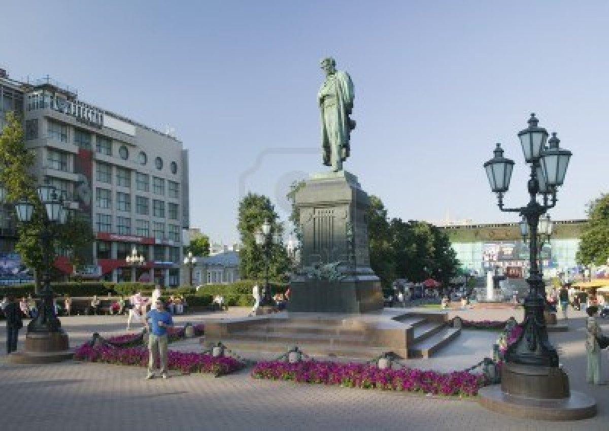 Памятник Пушкину приведут в порядок к 25 августа