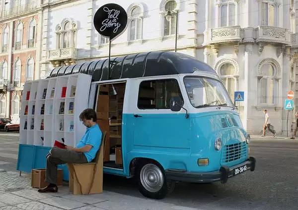 мобильный книжный магазин Tell a Story