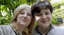 Кристин Барнетт с сыном Джейкобом