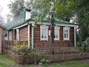 Дом-музей Сергея Есенина в селе Константиново
