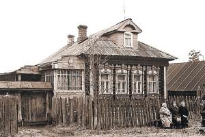 """""""Матренин двор"""" до реставрации, Матренин двор, дом-музей Солженицына"""