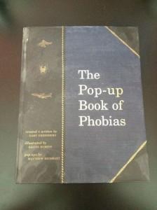 человеческие фобии, книга человеческих фобий, страхи человека в картинках, необычные книги, литература в картинках