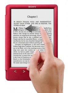 Букридер Sony Reader PRS-T3, новинки букридеров, букридеры Sony, электронные книги Sony