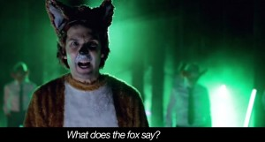 Книга What does the fox say, книга по клипу The Fox, дуэт Ylvis Норвегия