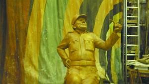 памятник Швейку в Самаре, памятник бравому солдату Швейку, новости литературы, памятники литературным персонажам