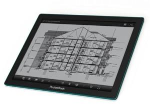 PocketBook CAD Reader, электронная бумага Fina, новинки букридеров, анонсы букридеров