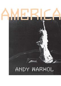 Энди Уорхол, Америка, анонсы книг