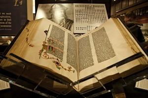 Библиотека Бодлиан, Библия Гутенберга, оцифровка старинных книг, новости литературы