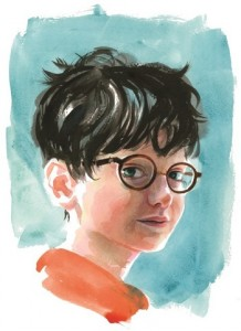 Гарри Поттер, Джим Кей, Джоан Роулинг, иллюстрации к Гарри Поттеру, Гарри Поттер с цветными иллюстрациями