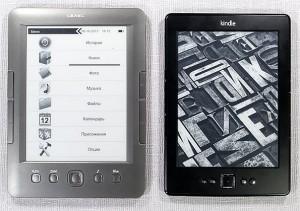 teXet TB-146SE, аналог Kindle, новинки букридеров, новинки электронные книги