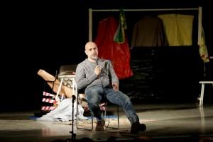 Захар Прилепин, Нижний Новгород, спектакль Допрос по Прилепину, встреча Прилепина с читателями