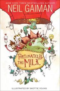 Нил Гейман, К счастью, молоко!, анонсы книг, книги для детей
