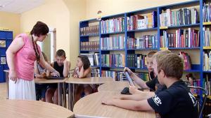 Детская библиотека «Zīlīte», библиотека Даугавпилса Латвия, детские библиотеки, книга рекордов читателей