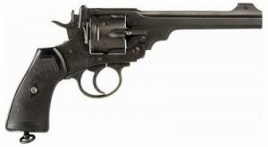 Револьвер Webley Mk V, Револьвер Толкиена, Выставка о Первой мировой войне, Толкин участвовал в Первой мировой войне, Толкин интересные факты