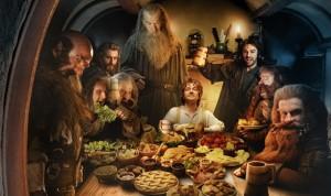 """Кадр из фильма """"Хоббит: Нежданное путешествие"""", что ели хоббиты, диета Средиземье, пища героев Толкиена"""