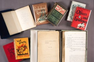 Ротшильды передали архив Ивлина Во, библиотека Лос-Анджелеса, библиотека  Хантингтона, архив Ивлина Во