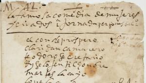 копия неизвестной пьесы Лопе де Веги, рукопись пьесы Лопе де Веги, драматургия XVII века