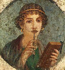 стихотворения Сафо, найден папирус со стихами Сафо, древнегреческая поэзия, литературные находки, новости литературы
