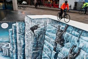 Стена из книги Мартина в Лондоне, Игра престолов, Джордж Мартин, Песнь льда и пламени