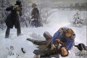 Александр Пушкин, Жорж Дантес, дуэль Пушкин Дантес, 8 февраля день в истории