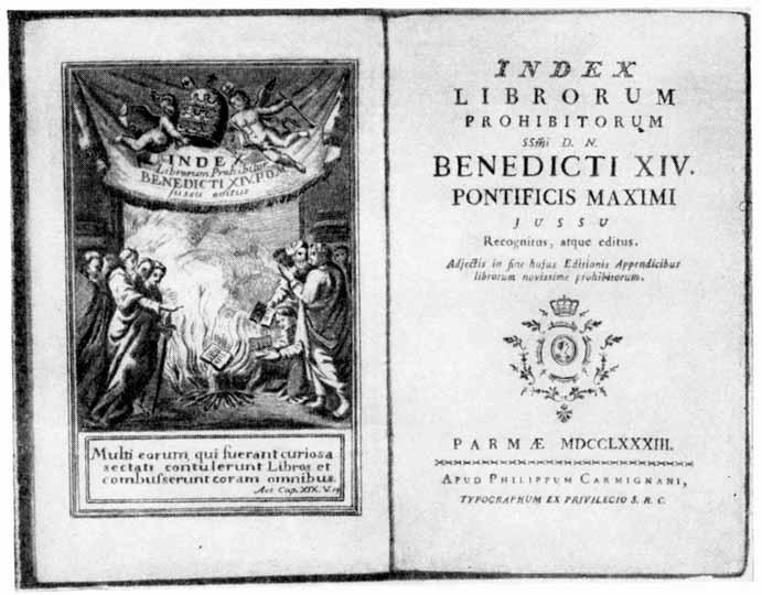 Индекс запрещенных книг, 9 апреля день в истории, литературный календарь