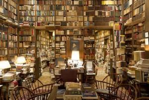 Домашняя библиотека Умберто Эко, литература в картинках