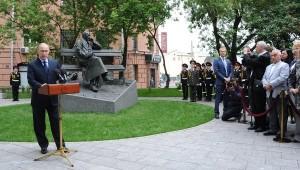 памятник Сергею Михалкову в Москве, памятник Михалкову на Поварской улице, новости литературы