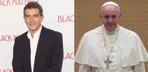 Антонио Бандераск, Папа Римский Франциск, Франциск: Папа из народа, Евангелина Химитиан, экранизации