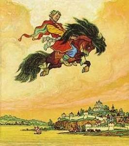 Конек-Горбунок, П. Ершов, сказки для детей, детская литература