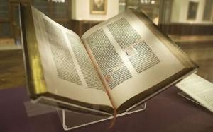 Библия Гутенберга, сотрудники ФСБ украли Библию Гутенберга, редкие книги, новости литературы