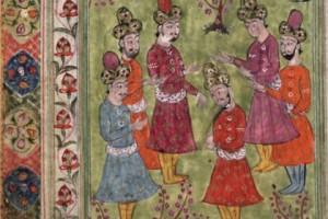 рукописная книга дервишей, Приключения четырех дервишей, рукописные книги, выставка книг Красноярск