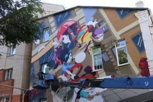 Притча Ричарда Баха , граффити Саратов, Чайка по имени Джонатан Ливингстон