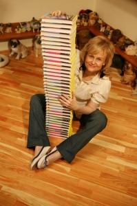 Дарья Донцова, книгоиздание Россия, статистика книгоиздания