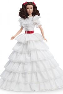 """специальная серия кукол Barbie, Унесенные ветром, Маргарет Митчелл, 75-летие фильма """"Унесенные ветром"""""""