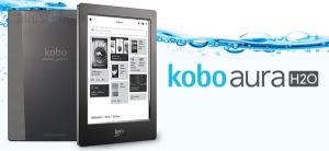 Kobo Aura H2O, водонепроницаемый букридер, новинки букридеры, анонсы букридеры