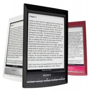 букридеры Sony, электронные книги Sony, новости электронные книги