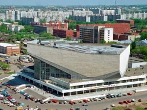 ЦГБ Омск, центральная городская библиотека Омск, книжная аллея Омск