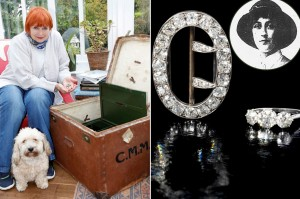 Агата Кристи, украшения Агаты Кристи, поклонница нашла кольцо и брошь Агаты Кристи