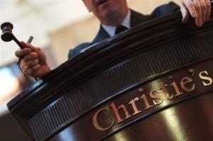 аукцион Christie's, аукцион редких книг, первое издание книги